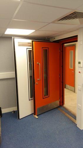 Double Acoustic Doors 20160920_095409