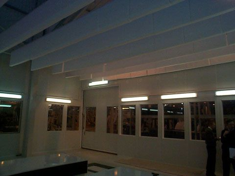 High Performance Acoustic Barriers   Soundproof Louvres