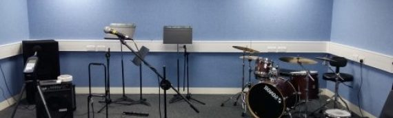 New Music Practice Rooms